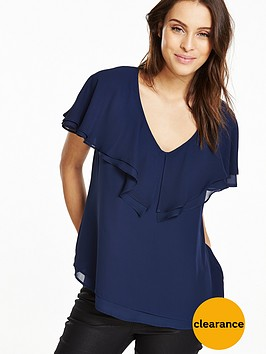 v-by-very-tiered-frill-blouse
