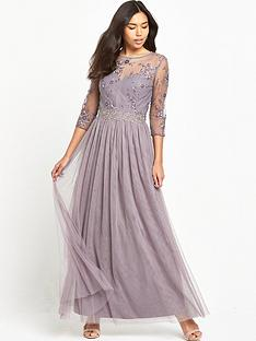 little-mistress-three-quarter-sleeve-lace-maxi-dress-mink