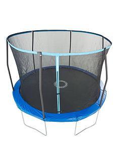 sportspower-easi-storenbsp10ft-trampoline-with-enclosure-flipnbsppadnbsp