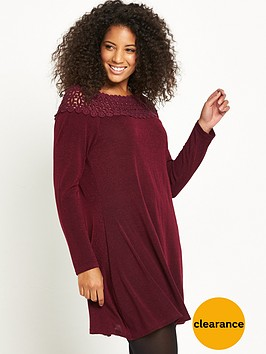ax-paris-curve-crochet-neck-knit-tunic-wine