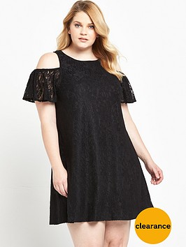 ax-paris-curve-cold-shoulder-lace-dress-black