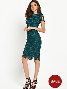 ax-paris-crochet-midi-dress-teal