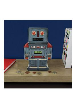 tin-robot-counting-money-box