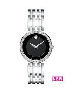 movado-movado-esperanza-black-dial-stainless-steel-bracelet-ladies-watch