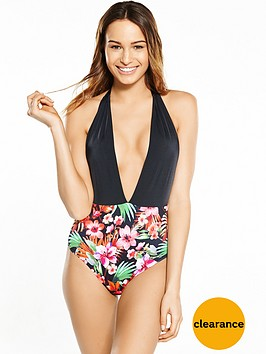 boux-avenue-polynesia-floral-plunge-swimsuitnbsp
