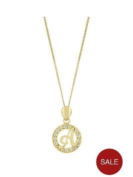 love-gold-9ct-gold-cubic-zirconia-initial-pendant