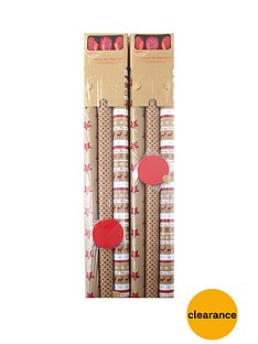 18-piece-kraft-christmas-gift-wrap-bundle