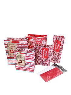 17-piece-nordic-christmas-gift-wrap-bundle