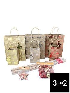 43-piece-kraft-christmas-gift-wrap-bundle