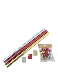 73-piece-traditional-christmas-gift-wrap-bundle