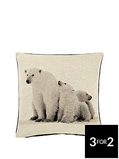 arctic-bears-cushion-43x43cms