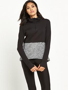river-island-ri-active-double-layer-blocked-zip-sweater