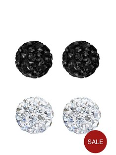 love-silver-love-silver-sterling-silver-8mm-white-and-jet-black-crystal-ball-earrings