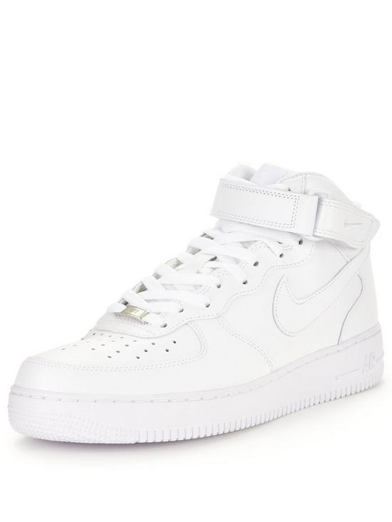 hot sale online 79b89 ae84a Nike Air Force 1 Mid  07 Leather
