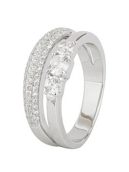 the-love-silver-collection-sterling-silver-cubic-zirconia-split-band-trilogy-ring