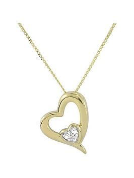 love-gold-9ct-yellow-gold-diamond-set-heart-pendant