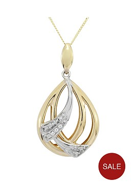 love-gold-9ct-gold-cubic-zirconia-peardrop-pendant-with-white-rhodium-highlights