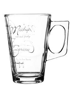 ravenhead-ravenhead-script-latte-mugs-30cl-set-of-4