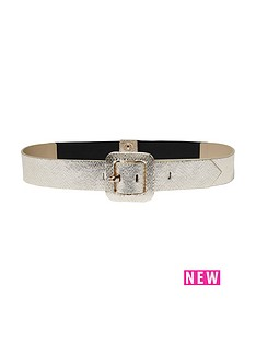 river-island-river-island-metallic-snake-buckle-detail-waist-belt