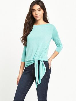 river-island-tie-front-lightweight-knitted-jumper
