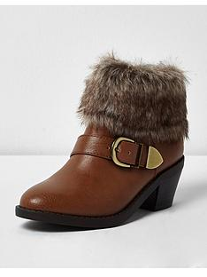 river-island-girls-boots-with-faux-fur-cuff