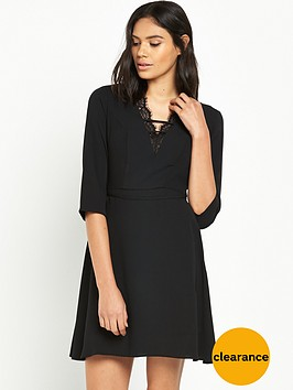 river-island-lace-trim-plunge-dress