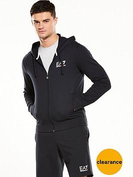 emporio-armani-ea7-logo-fleece-full-zip-hoody