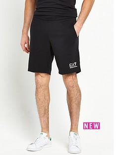 emporio-armani-ea7-small-logo-sweat-shorts