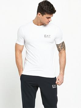 emporio-armani-ea7-logo-stretch-t-shirt