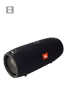 JBL Xtreme Large Splashproof Portable Bluetooth Speaker with Carry Strap - Black