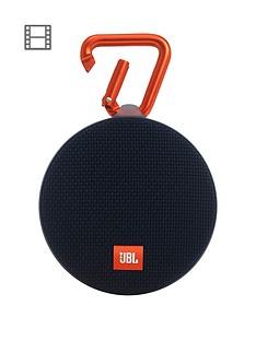 JBL Clip2, IPX7 Waterproof, Portable Bluetooth Speaker with Carabiner - Black