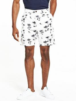 jack-jones-intelligence-chino-short-palm-print