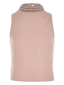river-island-girls-embellished-neck-fitted-tank-top
