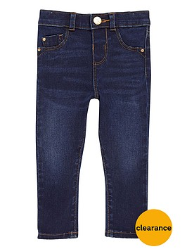 river-island-mini-girls-blue-wash-skinny-jeans