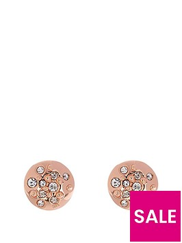 karen-millen-karen-millen-rose-gold-sprinkle-studs-made-with-swarovski-elements