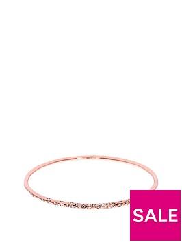 karen-millen-karen-millen-rose-gold-crystal-sprinkle-bangle-made-with-swarovski-elements