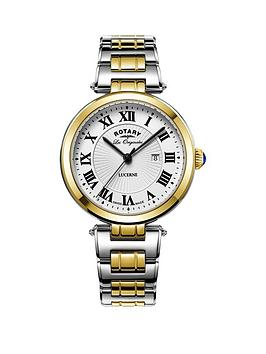 rotary-rotary-swiss-lucerne-silver-tone-roman-numerial-dial-two-tone-stainless-steel-mens-watch