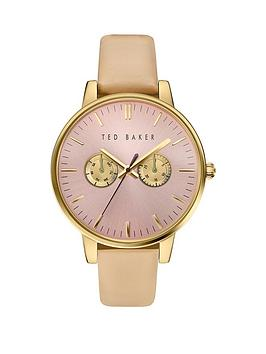 ted-baker-ted-baker-pink-dial-tan-leather-strap-ladies-watch
