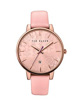 ted-baker-ted-baker-pink-dial-pink-leather-strap-ladies-watch