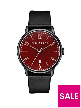 ted-baker-ted-baker-burgundy-dial-black-leather-strap-mens-watch