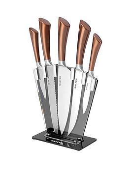 salter-fan-knife-block-5-piece-set