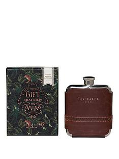 ted-baker-brogue-hipflask