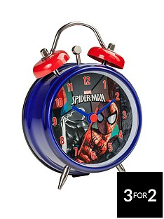 spiderman-mini-twin-bell-alarm-clock