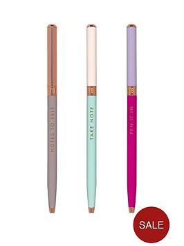 ted-baker-colour-block-pen-set