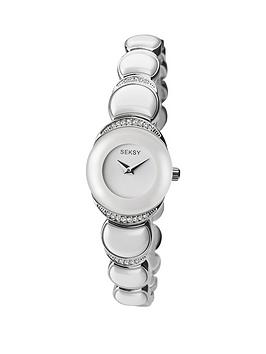 sekonda-seksy-white-dial-white-bracelet-ladies-watch