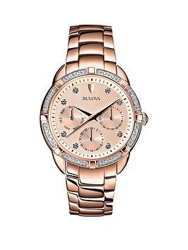 bulova-bulova-rose-tone-multi-dial-rose-tone-stainless-steel-ladies-watch