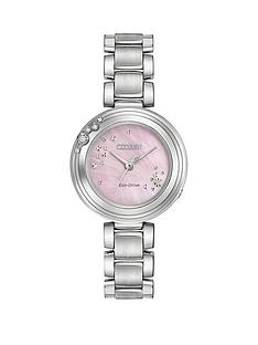 citizen-citizen-eco-drive-carina-diamond-pink-mother-of-pearl-dial-stainless-steel-bracelet-ladies-watch