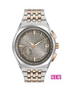 citizen-citizen-eco-drive-satellite-wave-world-time-gps-grey-dial-two-tone-bracelet-mens-watch