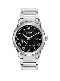 citizen-citizen-eco-drive-power-reserve-black-dial-stainless-steel-bracelet-mens-watch