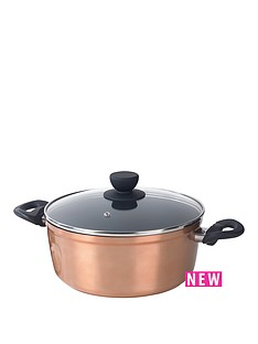 salter-copper-effect-24cm-stockpot